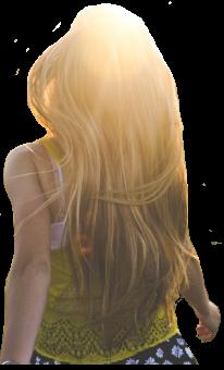 Vesela djevojka koja te vodi u svijet transformacije