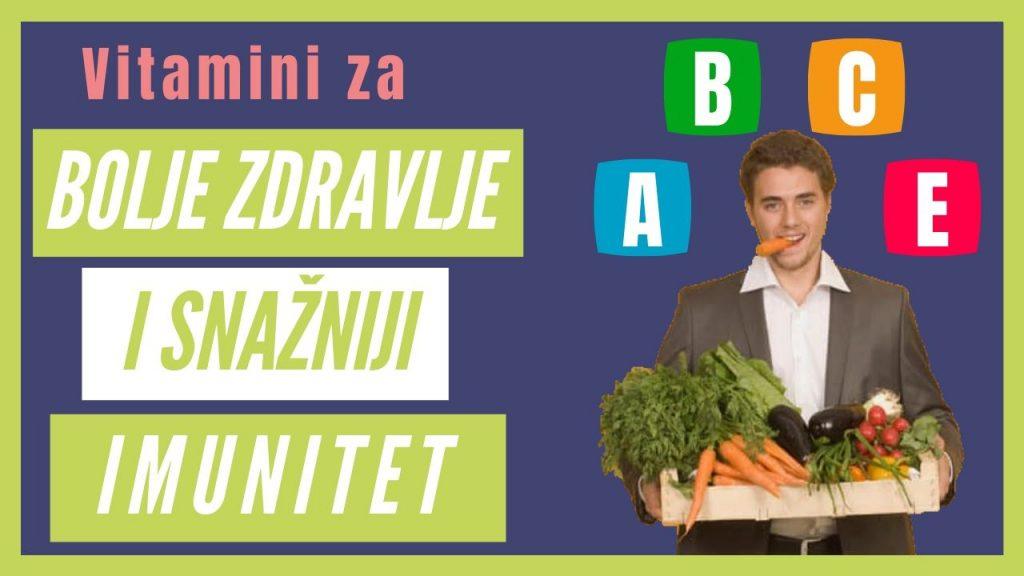 Cover članka - Vitamini važni za jačanje imuniteta i bolje zdravlje