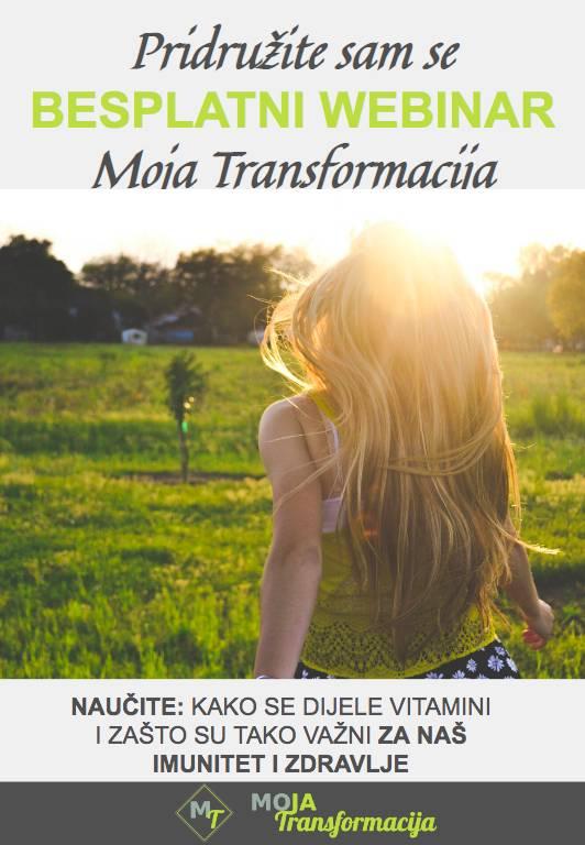 Cover besplatnog predavanja o vitaminima i njihovoj važnosti za zdravlje - vitamini važni za jačanje imuniteta i bolje zdravlje